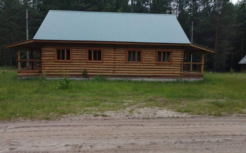 Hunting estate in Siberia