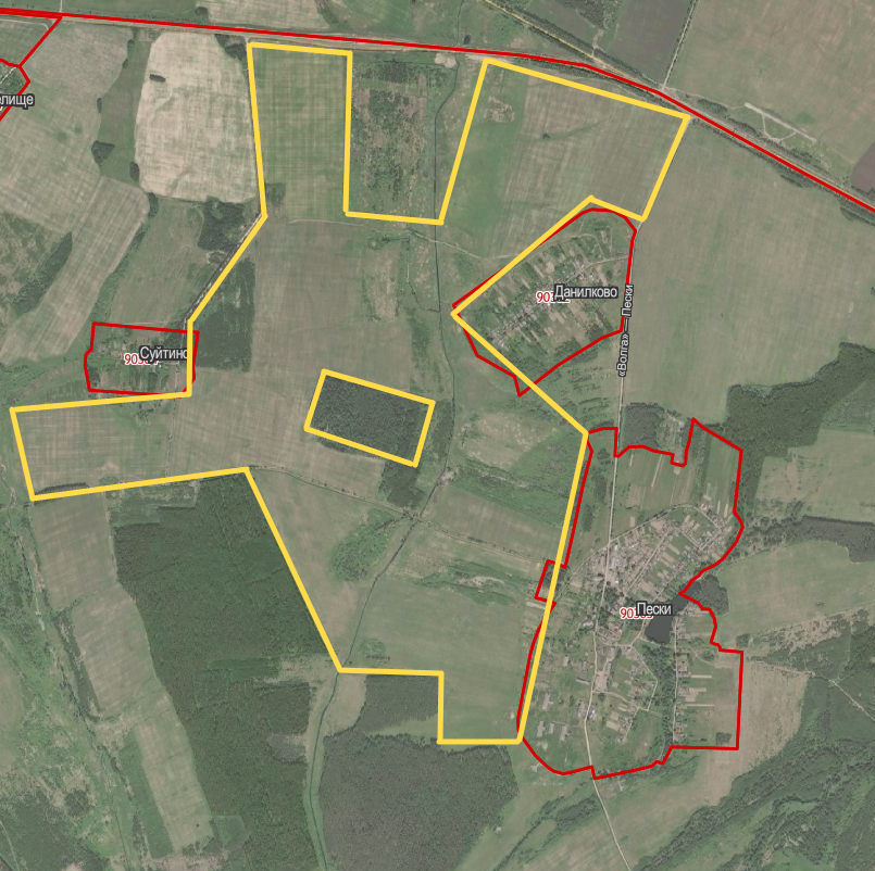 430 hectares of fertile land